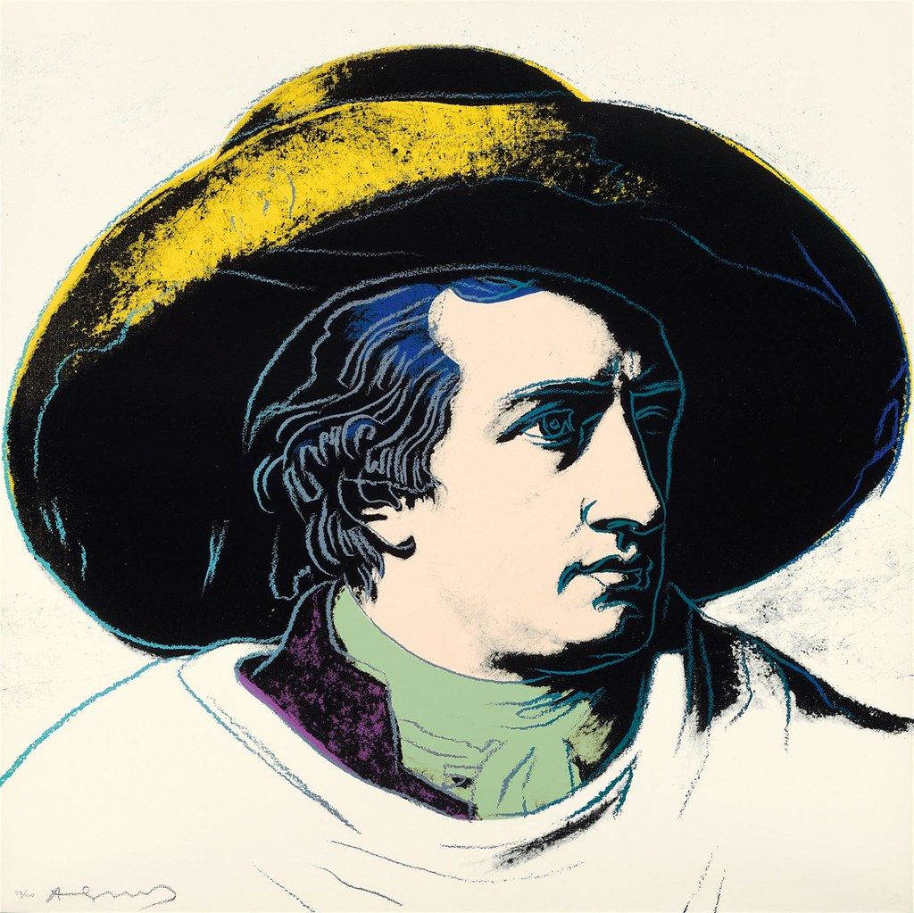 "Andy Warhol's ""Goethe"" 